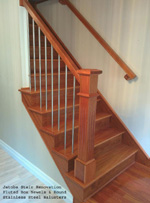 Jatoba Newel Post